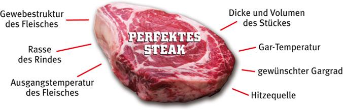 perfektes Steak | perfekte Steaks | gutes Fleisch